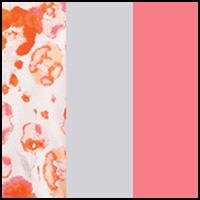 Poppy/Grey/Pink