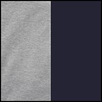 True Navy/Grey Heather