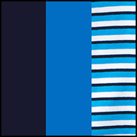 Turquoise Gem/Navy