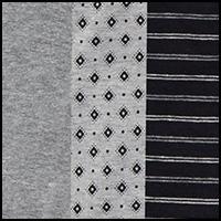 Black/Med Grey/LT Grey