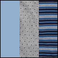 Blue Stripe/Blue/Grey