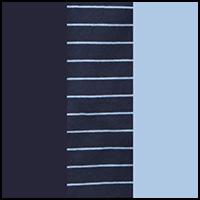 Sky Cap/Stripe/Blue