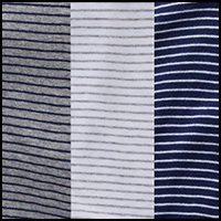 Blue/Grey/White Stripe