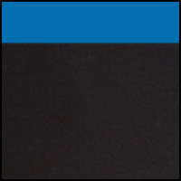 Black w/Mykonos Blue