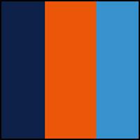 Navy/Orange/MarineBlue