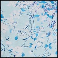 Floral Blue Glow