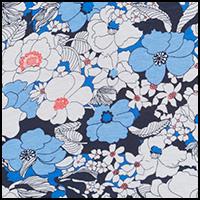 Floral Ultramarine