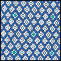 Geo Cobalt Blue