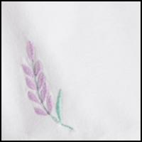 White/Lavender