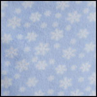 Blue Ground Snowflake