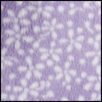 Lilac W/ White Ditsy