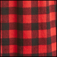 Black/Red BuffaloCheck