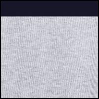 Silver Chine/Navy