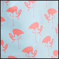Blue/Pink Flamingo