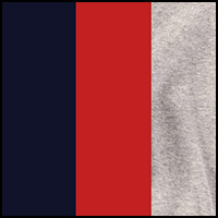 Red/Navy/Gray