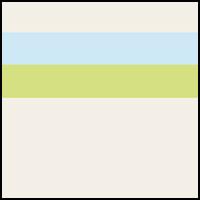Cream/Sky Blue/Kiwi