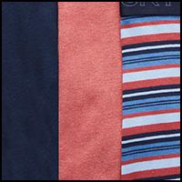 Indigo/Stripe/Rouge