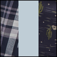 Plaid/Dusty/Blueberry