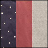 Rouge/Indigo/Grey