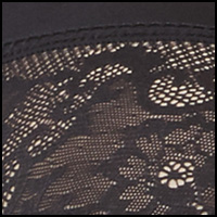 Blacklace/Bodybeige