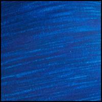 Blue Heather Print