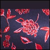 Brocade Floral Print