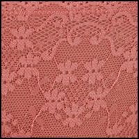Deep Mauve Lace