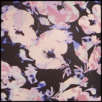 Flash Floral Black