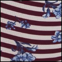 Floral Pop Print/Red