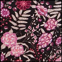 Floral Wisteria Black