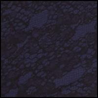 Navy Lace/Black