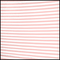 Peach White/Pin Stripe