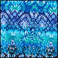Multi Blue Pattern