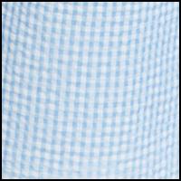 Blue/White Check