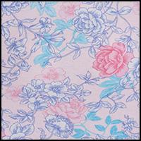Pink/Blue Floral