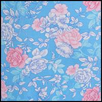 Pink Blue Floral