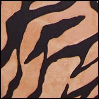 Caramel Zebra Print