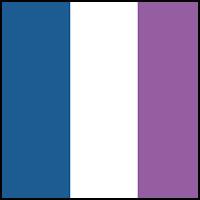 Marine Blue/Plum/White