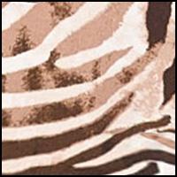 Natural Zebra Print