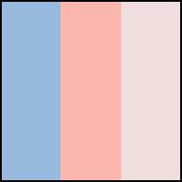 Ocean Mist/Peach/Pink