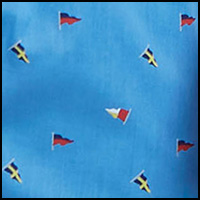 Mini Flags/Aero Blue