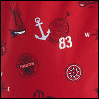 Nautical Red Stamp