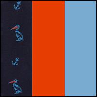 Orange/Blue/Peacoat
