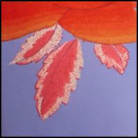 Sky Violet/Tangerine