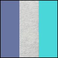 Indigo/Aqua/Grey
