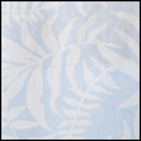 Blue Palm Print