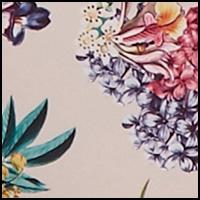 Ivory/Floral