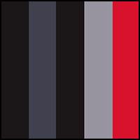 Black/Grey/Red