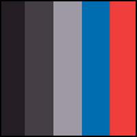 Black/Red/Blue