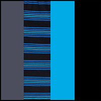 Charcoal/Blue/Black